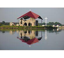 Ruins of church Photographic Print