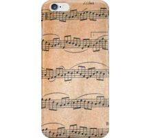 Antique Music  iPhone Case/Skin