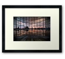 The Lake In The Sky Framed Print