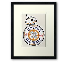 Covers All Wars Framed Print