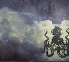 Flying Octopus  by Factory23