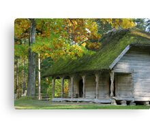 Open-air museum Canvas Print