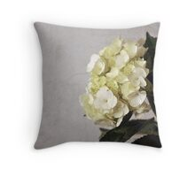 Baby Hydrangeas Throw Pillow