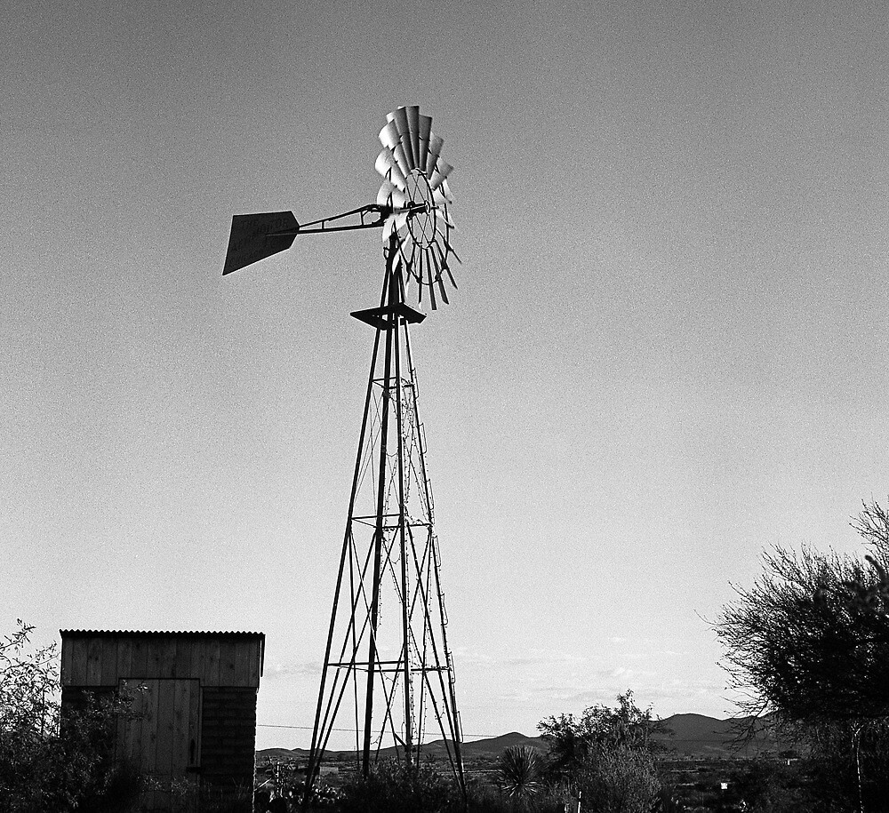 Old Time Windmill by James2001