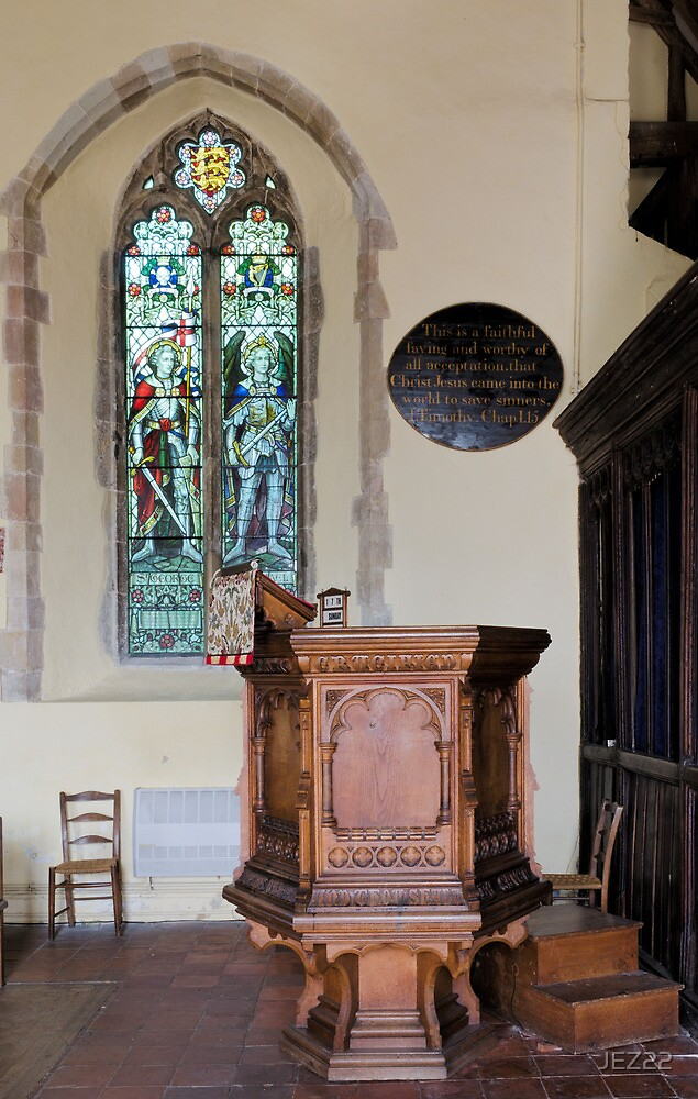 Pulpit and glass by JEZ22