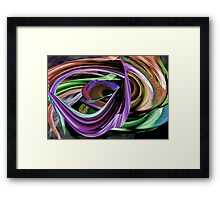 Colors Of Music Framed Print