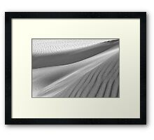 Dunescape 05 - St Annes on Sea Dunes, Fylde, Lancs Framed Print