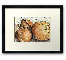 Onions Three Framed Print
