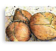 Onions Three Canvas Print