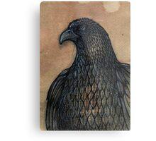 The Unruffled Eagle Metal Print