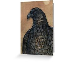 The Unruffled Eagle Greeting Card