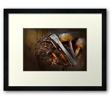 Carpentry - Tool - Tools for carving Framed Print