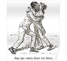 Achille Sirouy Mark Twain Les Aventures de Huck Huckleberry Finn illustration p132 Poster