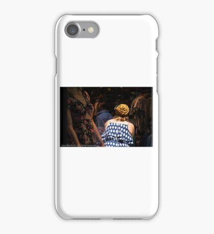 Window dressing iPhone Case/Skin