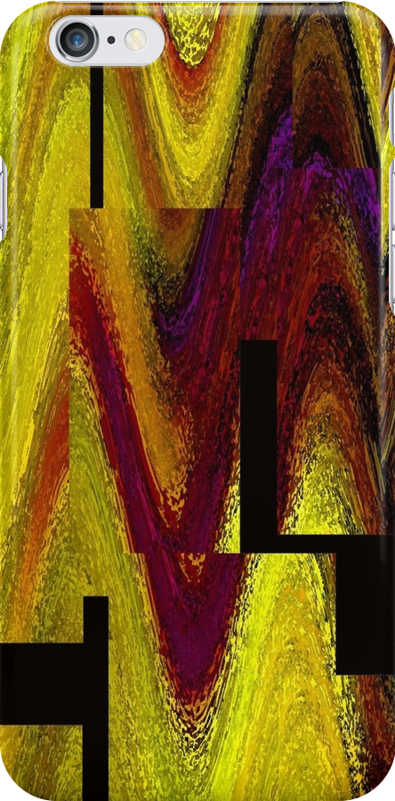 iPhone Case of painting... Indian corn.. by linmarie