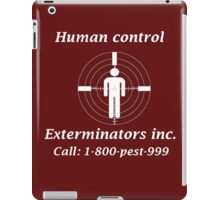 Exterminators iPad Case/Skin