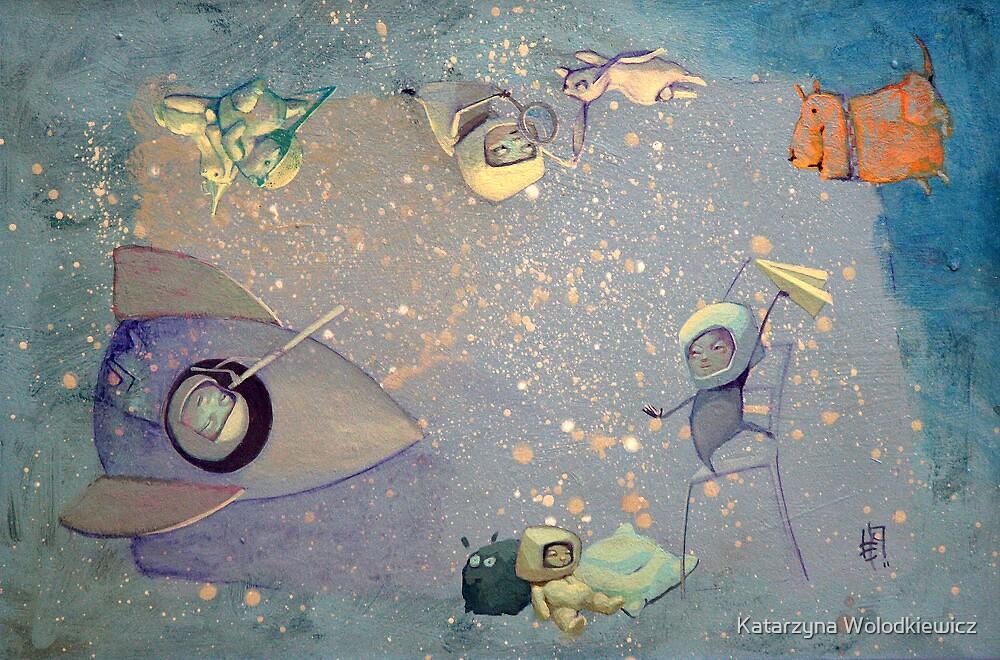 Cosmic adventures by Katarzyna Wolodkiewicz