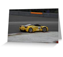 Ferrari Challenge Cup in Montreal 2011 Greeting Card