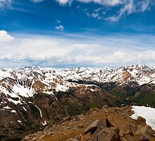Huron Peak Summit by Reese Ferrier
