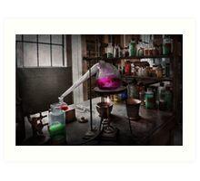 Science - Chemist - Chemistry for Medicine  Art Print