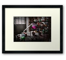 Science - Chemist - Chemistry for Medicine  Framed Print