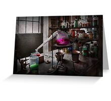 Science - Chemist - Chemistry for Medicine  Greeting Card