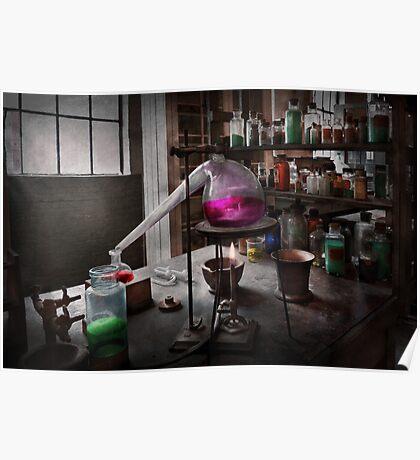 Science - Chemist - Chemistry for Medicine  Poster
