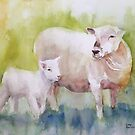 Spring Lamb by Lora Garcelon