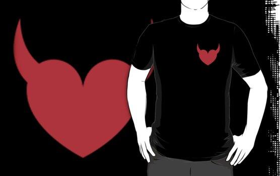 Satan's Heart by Kingofgraphics