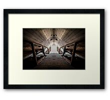 Tilty Hall Framed Print