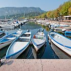 boats in harbour - garda by mortonboy