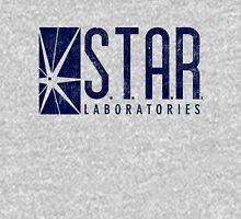 STAR Labs - Blue- Grunge Unisex T-Shirt