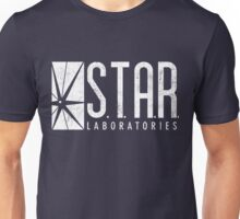 STAR Labs - White - Grunge Unisex T-Shirt
