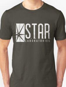 STAR Labs - White - Grunge T-Shirt