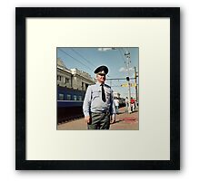 Russian Police Framed Print