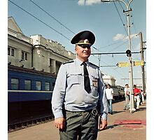Russian Police Photographic Print