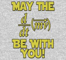 May The Force Be With You! Physics Geek Kids Clothes