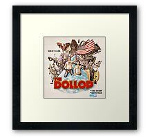 The Dollop Framed Print