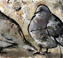 Pigeons #2 by RandyC