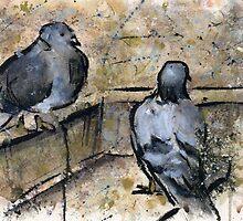 Pigeons #3 by RandyC