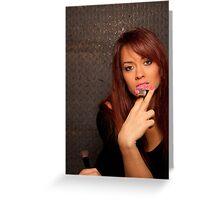 Smoking Korri Greeting Card