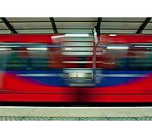 DLR Passing Through Photographic Print