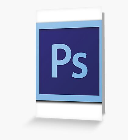 Photoshop Logo! Photoshop Skill Set!! Greeting Card