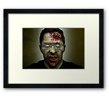 Shawn of the Dead Framed Print