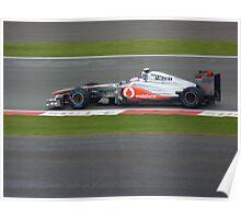 Jenson Button, Farm Curve 2011 Poster
