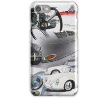 Porsche 356 History iPhone Case/Skin
