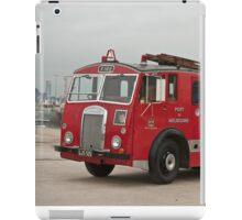 0285 Little Red Fire Truck iPad Case/Skin