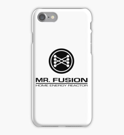 Mr. Fusion Home Energy Reactor iPhone Case/Skin