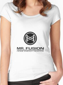 Mr. Fusion Home Energy Reactor Women's Fitted Scoop T-Shirt