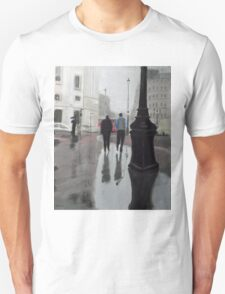 Reflections on The Mall Unisex T-Shirt